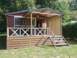 Chalet 25m² / 2 chambres - Terrasse couverte
