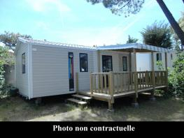 Mobil-home COMFORT 2 bedrooms, 28m² for 4 person maximum