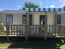 Mobil-home MAXI 3 bedrooms, 32m², for 6 people maximum